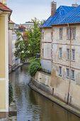 Devil's Stream In Prague, Czech Republic.