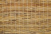 Woven Wood Wicker Background