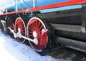 Wheels Of Blue Train