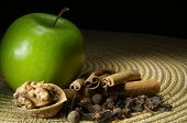 Green Apple, Cinnamon And Walnut
