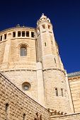 A Church in the old city of Jerusalem (Church of the Dormition), israel