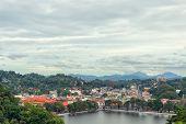 View Of Kandy In Sri Lanka