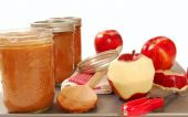 Freshly Preserved Apple Sauce
