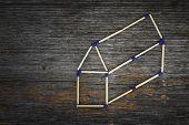 House Concept Matchstick