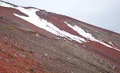 Mountain fuji climbing