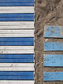 Beach Plastic Path And Planks