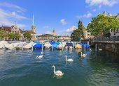 Zurich Summer Cityscape