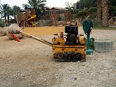 road work machine
