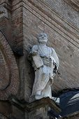 PARMA, ITALY - MAY 01, 2014: Saint Peter. Basilica Santa Maria della Steccata. Basilica is a Marian shrine made in Parma between 1521 and 1539 and in 2008 elevated to the rank of minor basilica