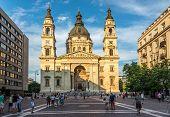 Basilica Saint Stephen's In Budapest