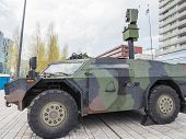 Military Armored Reconnaissance Vehicle