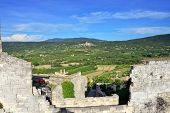 stock photo of marquise  - Provence rural landscape - JPG