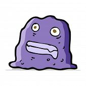 cartoon slime creature