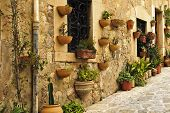 stock photo of chopin  - a view of Valldemossa Mallorca Balearic Islands Spain - JPG