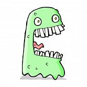 cartoon gross ghost