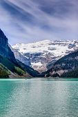 Mt Victoria On Lake Louise, Alberta, Canada