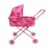 Toy Pink Pram