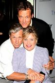 LOS ANGELES - AUG 4:  Charles Shaughnessy, Mary Beth Evans, Matthew Ashford at the