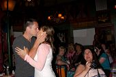 LOS ANGELES - AUG 1:  William deVry, Nancy Lee Grahn at the William deVry Fan Club Event at the Cali