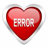 error valentine icon