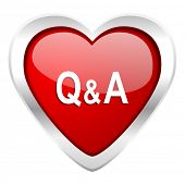 question answer valentine icon