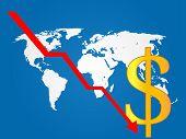Global Economy Crisis Dollar