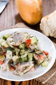 Herring Salad (with Bread)