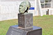 Dr. Kwame Nkrumah Bust - Accra, Ghana