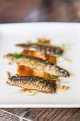 Broiled Sardines