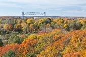 image of cape-cod  - Cape Cod Canal on an Autumn day - JPG