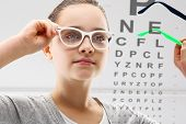 Child an ophthalmologist