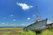 stock photo of fret  - Ship wreck in Le Fret Crozon community Finistere - JPG