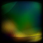 Abstract yellow-green background