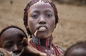 Woman From Hamer Tribe