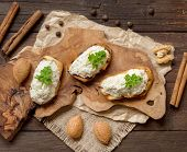 Toasted Bread With A Salted Codfish Mousse