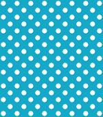 Turquoise Background with white dots