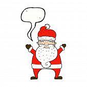 cartoon annoyed santa