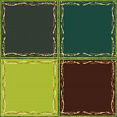 Abstract Seamless Drawings Of Squares