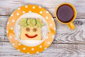picture of sandwich  - Funny sandwich for a child - JPG