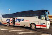Passenger Bus. Eurolines.