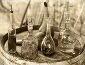 Vintage Glass Utensils