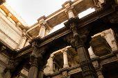Sunlight On Adalaj Stepwell In Ahmedabad