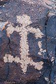 Sloan Canyon Lizard Petroglyph