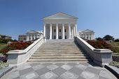 stock photo of virginia  - The Virginia State Capitol Building in Richmond - JPG