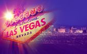 stock photo of strip  - Las Vegas Concept Photo Collage - JPG