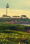 picture of lighthouse  - The Lighthouse Vista - JPG