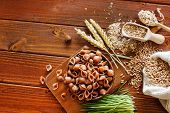 picture of whole-wheat  - whole wheat pasta - JPG