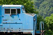 Modern Diesel Locomotive