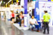 stock photo of department store  - Abstract blurred people shopping in department store - JPG