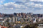 stock photo of kiev  - Kiev cityscape in spring - JPG